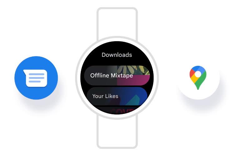 Samsung dévoile l'interface de sa future Galaxy Watch basée sur Wear