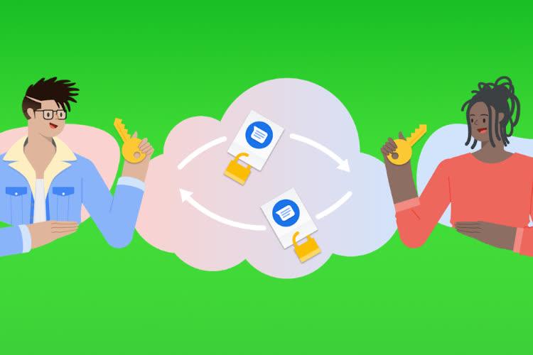 Google active le chiffrement de bout en bout dans son application Messages