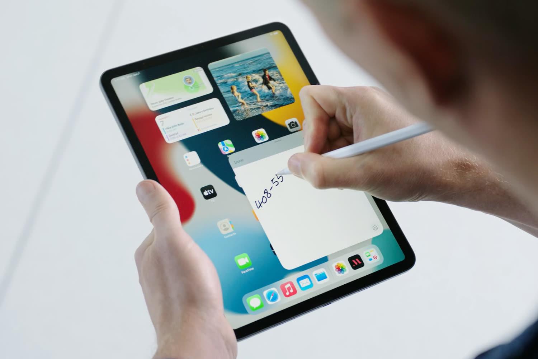 Aperçu de Notes (rapides) sur iPadOS 15 et macOS Monterey