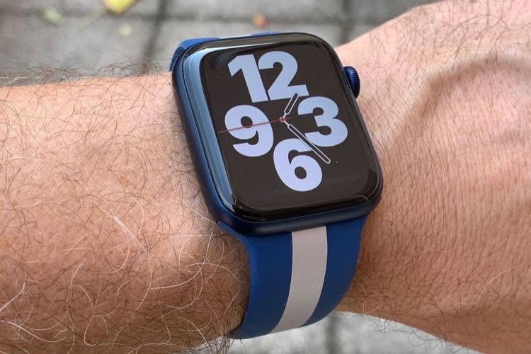AppleWatch Series 7 : une puce S7 plus petite mais plus puissante