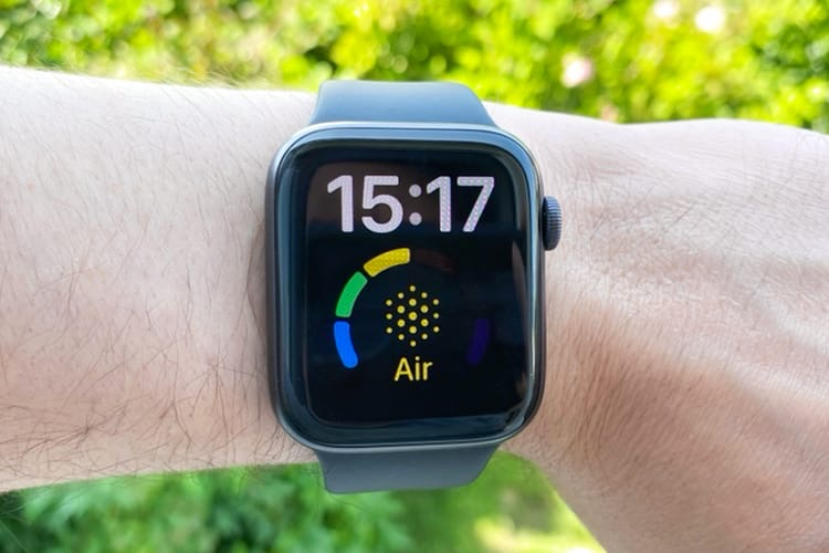 Voici comment afficher la qualité de l'air sur votre AppleWatch