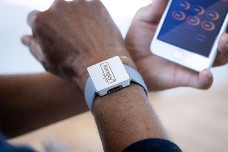 Un capteur santé à tout mesurer (possiblement la glycémie) chez Rockley Photonics, un fournisseur d'Apple