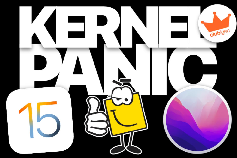 On fait un point d'étape sur iOS 15 et macOS Monterey dans Kernel Panic !