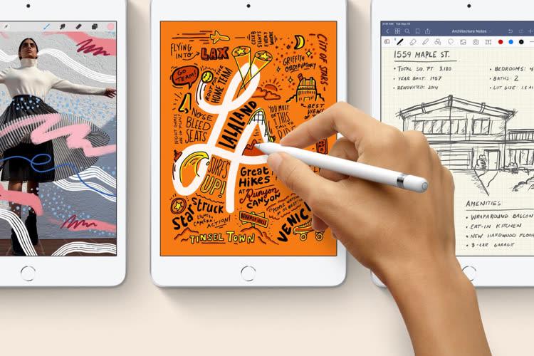 Les futurs iPad 9, Air 5 et mini 6 ne changeraient que légèrement