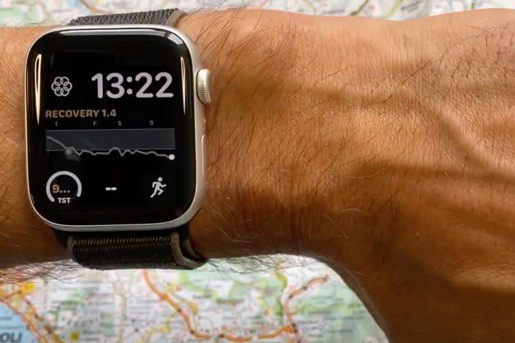 watchOS 8 : les apps de sport pourraient bien profiter d