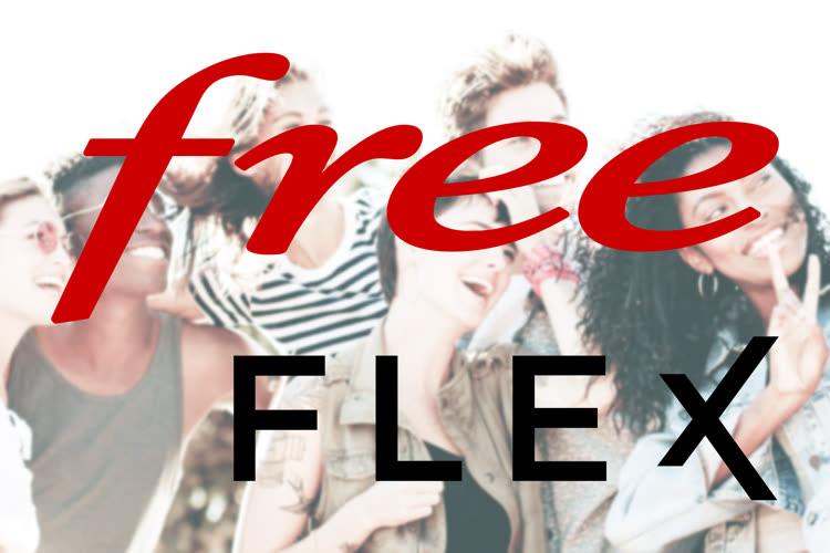 Free met en avant son offre Flex en la comparant avec ses pires concurrents