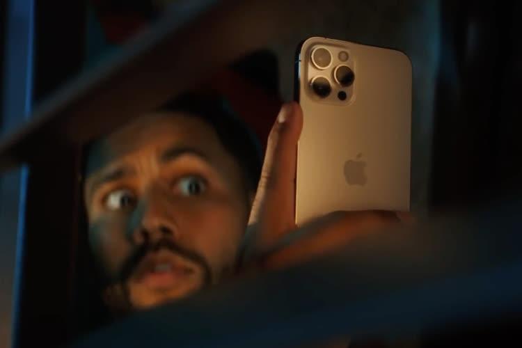 video en galerie : iPhone 12 : les selfies en mode nuit ont droit à leur publicité