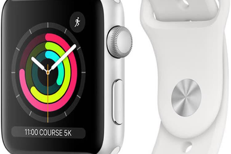 Promo : l'AppleWatch Series 3 dès159€