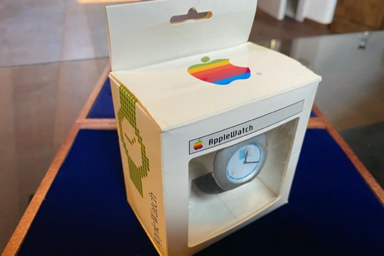 image en galerie : Une AppleWatch des années 1990 pour 30000euros