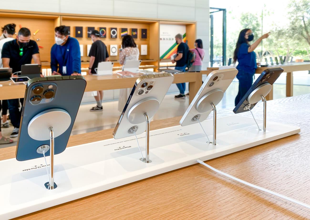 Les AppleStore présentent l