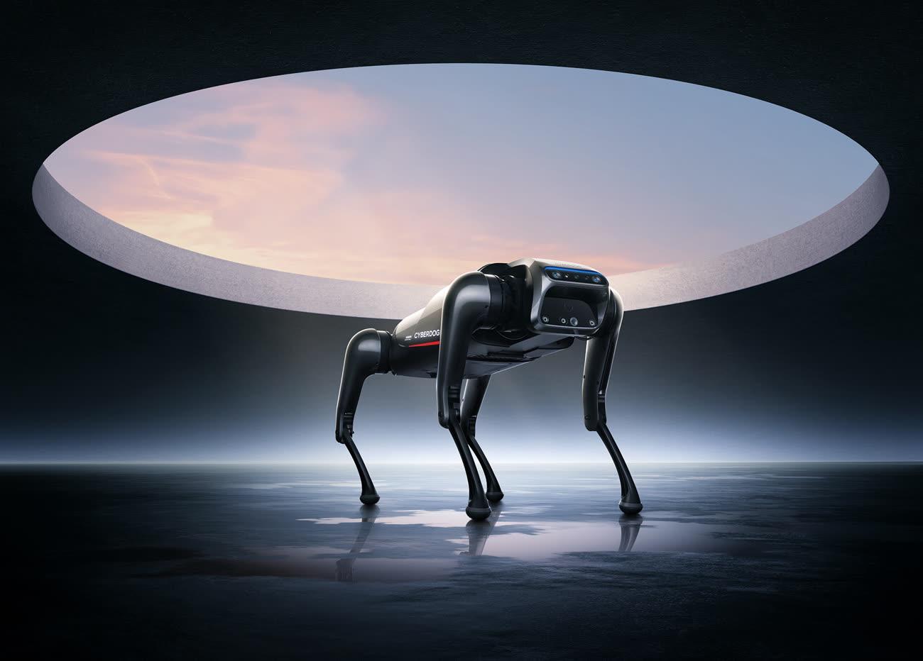 Le Cyberdog, nouveau toutou cybernétique de Xiaomi