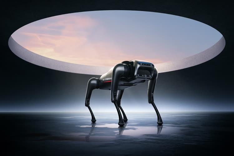 image en galerie : Le Cyberdog, nouveau toutou cybernétique de Xiaomi