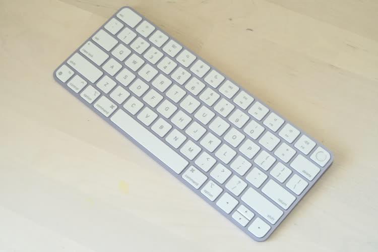 Le Magic Keyboard avec Touch ID n