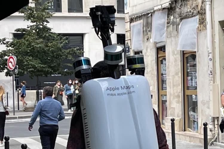 image en galerie : Les piétons Apple Maps parcourent les rues de Paris