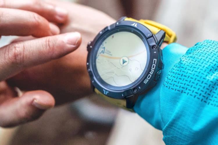 Coros Vertix 2 :une montre pouvant utiliser 5 systèmes de GPS simultanément