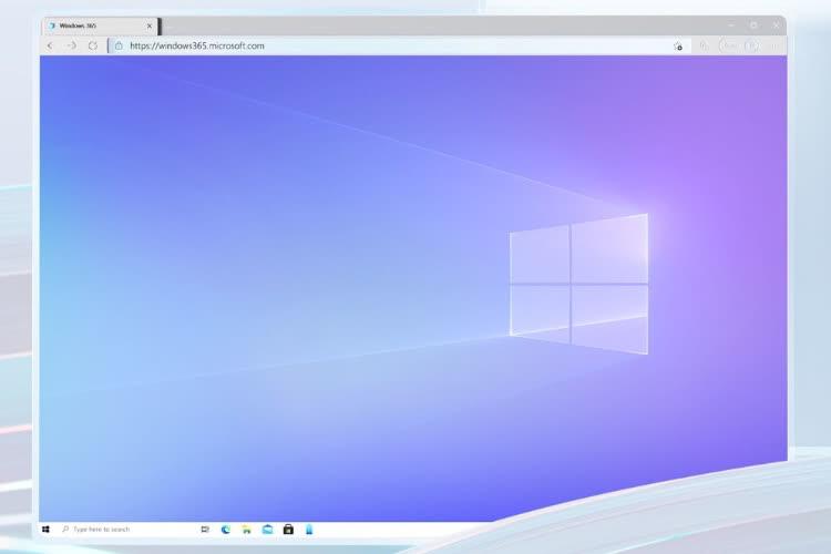 Windows 365 : le PC en streaming de Microsoft à partir de 18,20€ HT par mois