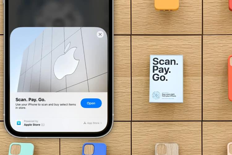 Apple déploie les App Clip dans certains Apple Store