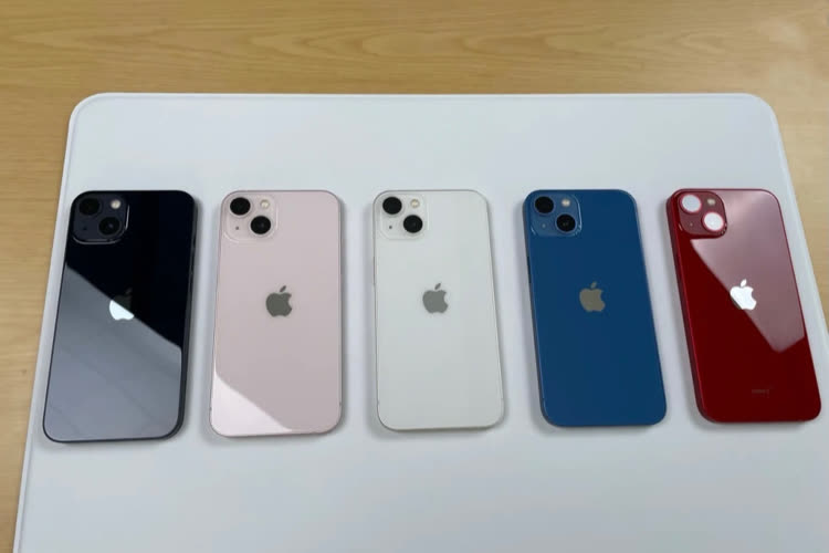 iPhone 13 : la gamme déballée et un emballage plus écolo
