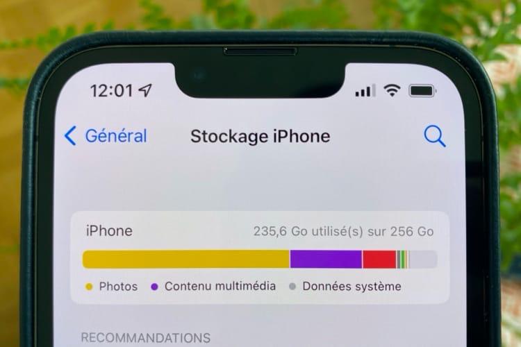iOS15 peut aussi croire à tort que votre iPhone est rempli de photos