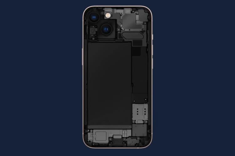 Sans surprise, la capacité des batteries des iPhone 13 est plus importante