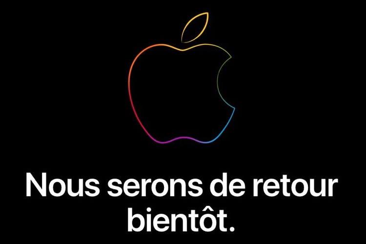 L'AppleStore prépare l'arrivée de l'iPhone 13