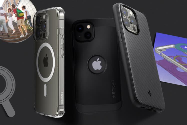 Profitez de votre iPhone 13 sans fil avec les coques et chargeurs Spigen 📍