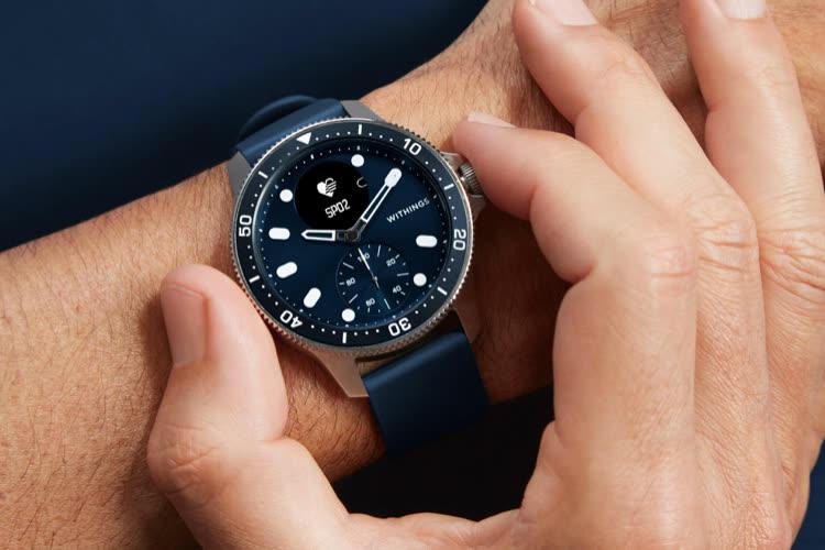 ScanWatch Horizon : Withings s'inspire des montres de plongée