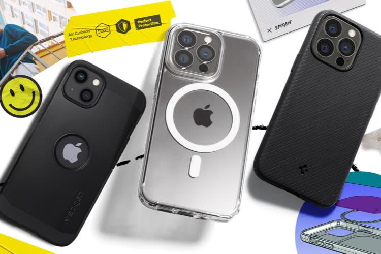 Spigen : découvrez les premiers accessoires pour iPhone 13 📍
