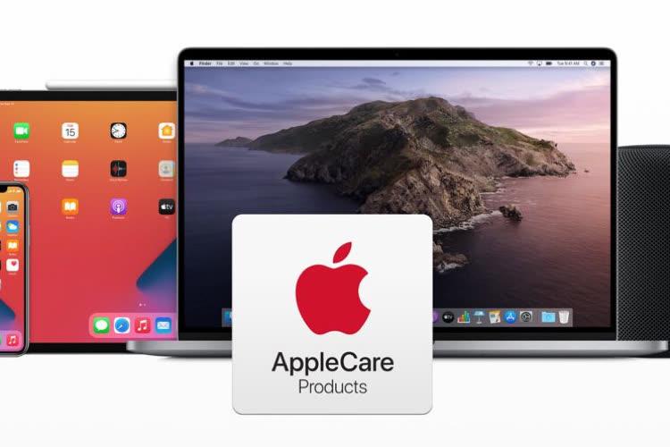 L'AppleCare+ en paiements annuel et mensuel est disponible en France