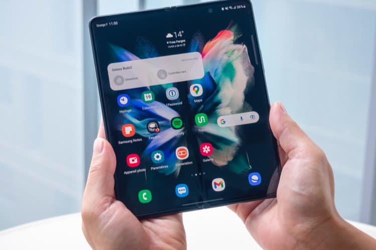 Test du Galaxy Z Fold3: un nouveau pli à prendre