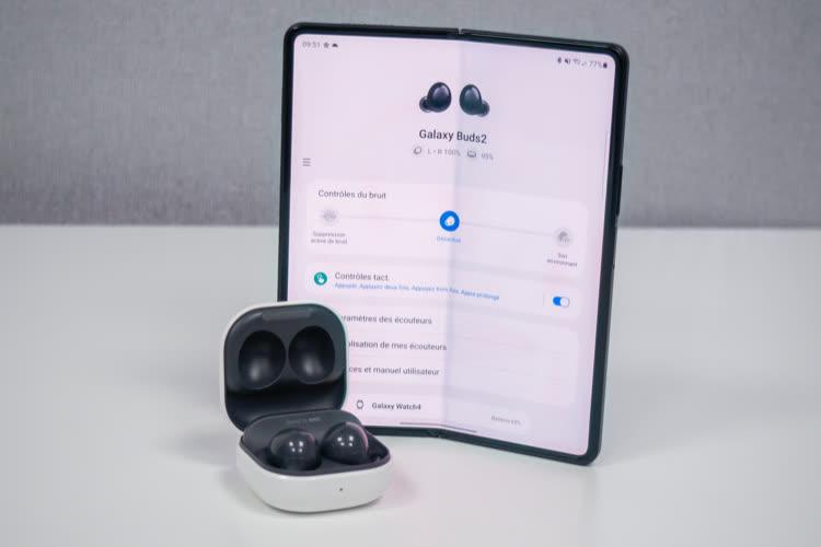 Test des Samsung Galaxy Buds2: de bons écouteurs pour Android