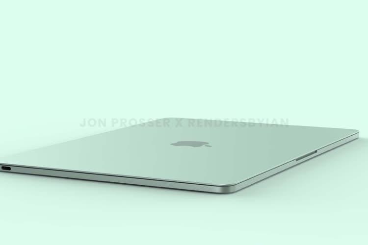 Le MacBookAir nouvelle génération entrerait en production au T3 2022