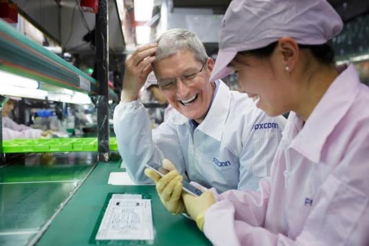 Des sous-traitants chinois d'Apple suspendent temporairement leur production faute d'énergie