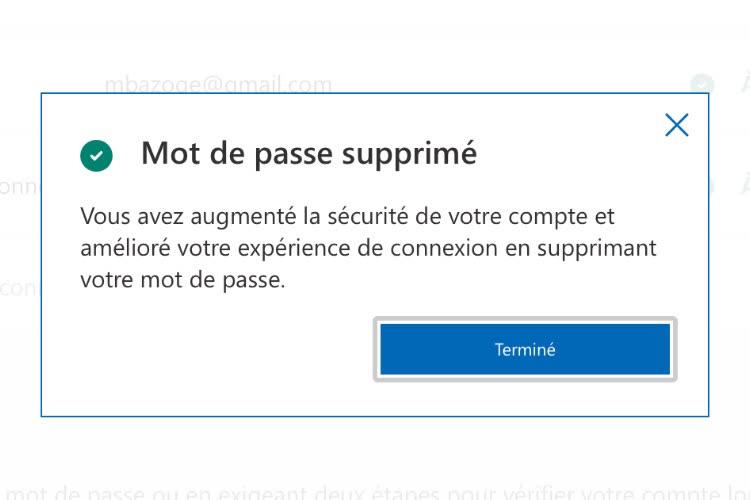 Microsoft propose à ses utilisateurs de vivre sans mot de passe