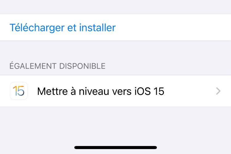 On peut rester sous iOS 14 en toute sécurité