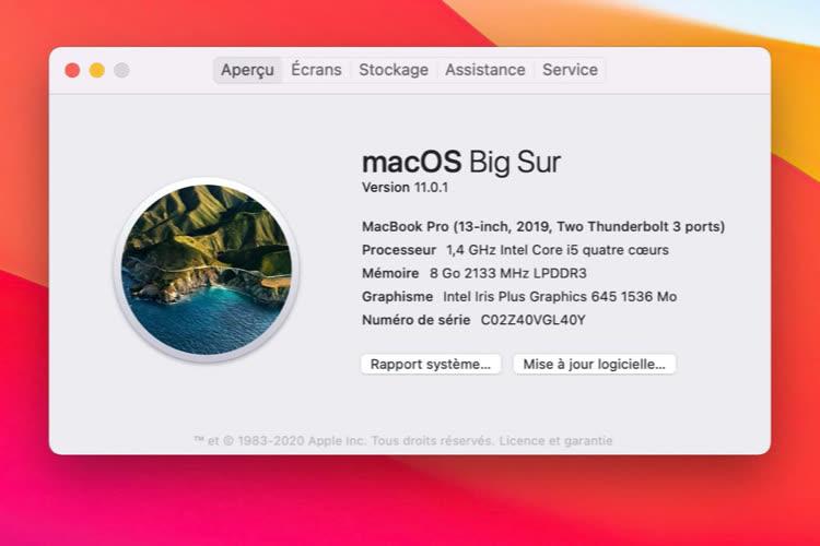 Patched Surmet à jour les vieux Mac vers macOS Big Sur