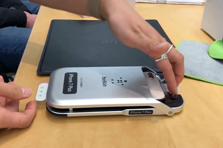 Les AppleStore ne posent plus de protections d'écran sur les iPhone jusqu'à nouvel ordre