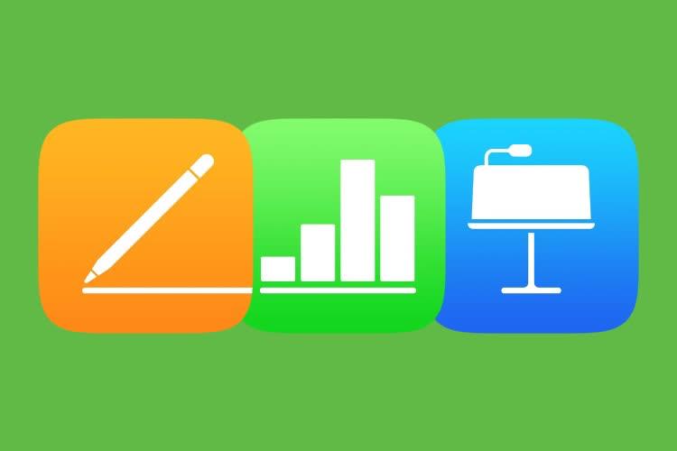 Les nouveautés d'iOS 15 se font une place dans Pages, Numbers et Keynote