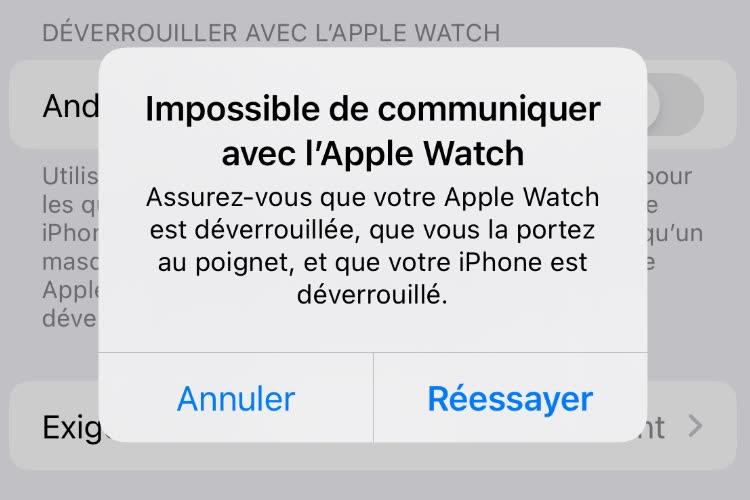 Apple confirme un bug pour le déverrouillage des iPhone 13 avec l