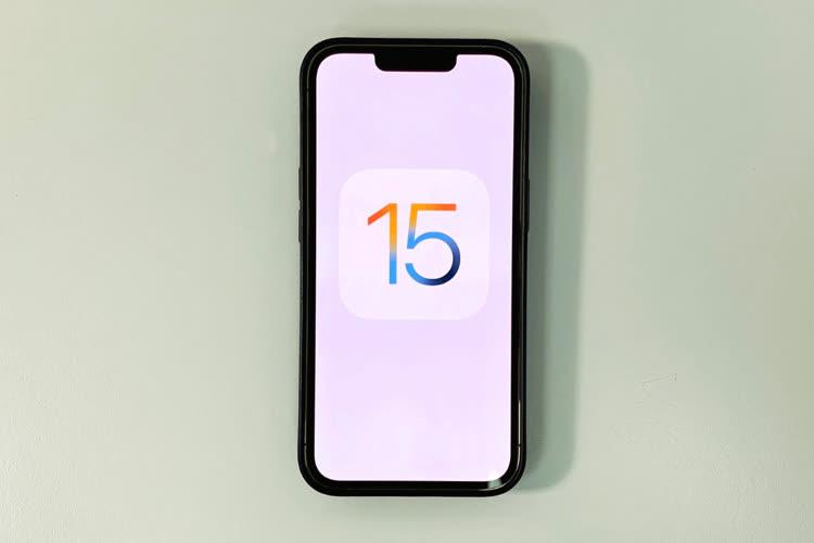 Apple ne force pas la main pour passer sous iOS 15