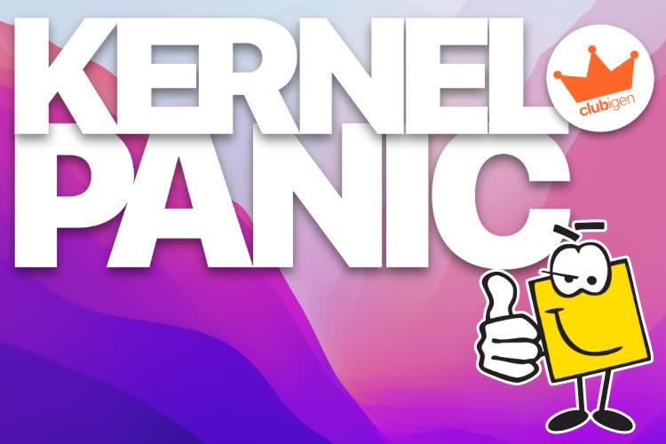 Kernel Panic plonge dans les nouveautés de macOS Monterey