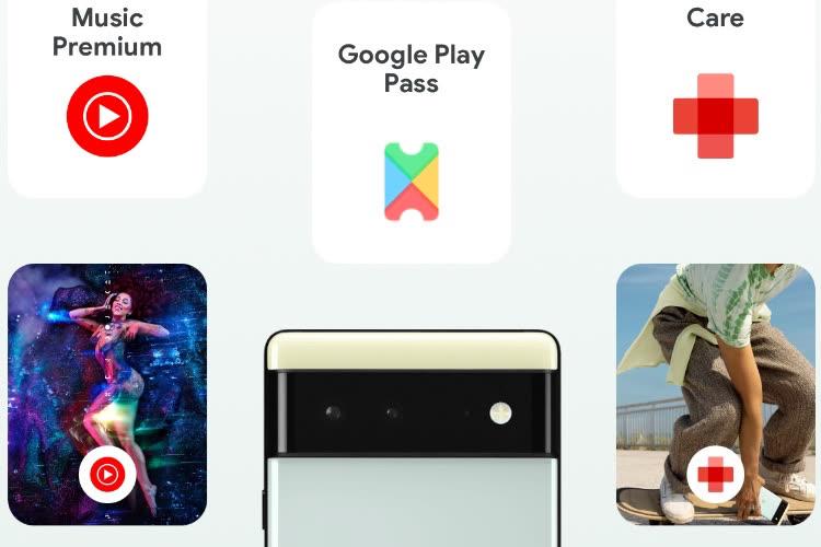 Un Pixel 6, le Google Play Pass et YouTube Premium dans un abonnement unique