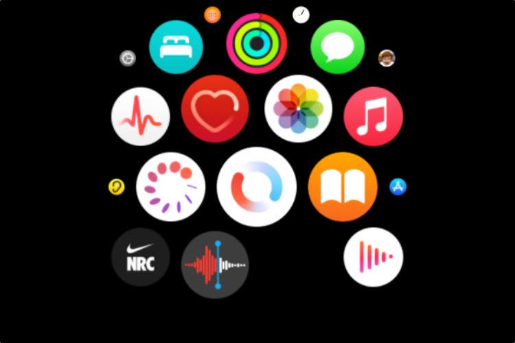 AppleWatch Series 7: vague de mises à jour pour rétablir les icônes invisibles des apps