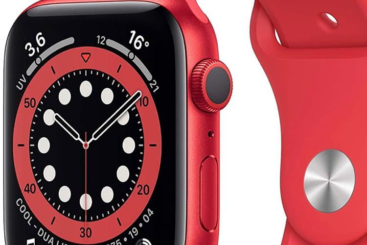 Promo : l'AppleWatch Series 6 de 379 € (40 mm) à 409€ (44mm)🆕