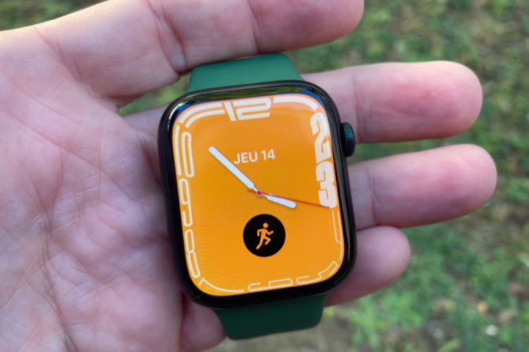 Prise en main de l'AppleWatch Series 7