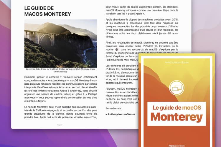 Notre guide de macOS Monterey est disponible!
