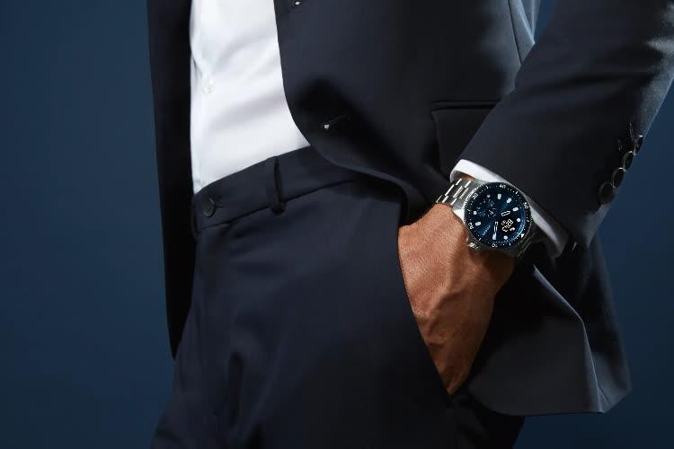 ScanWatch Horizon, la montre hybride connectée inspirée de l'horlogerie de luxe 📍