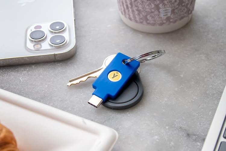 Une nouvelle clé de sécurité USB-C et NFC chez Yubico