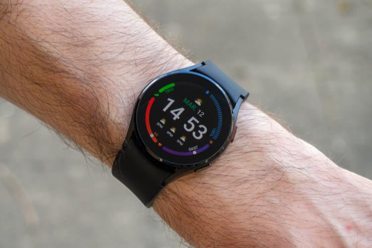 La Galaxy Watch4 en remontre à l'AppleWatch