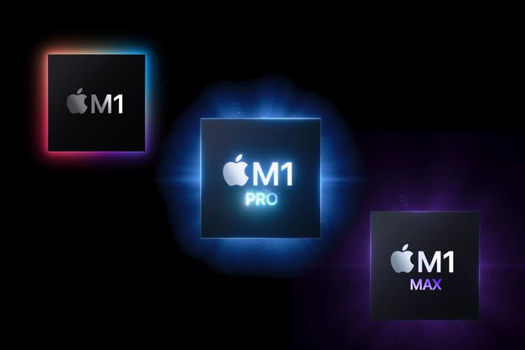 Apple M1 Pro/Max : des puces plus puissantes, une gamme plus complexe